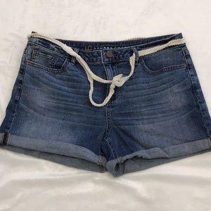 LC Lauren Conrad denim shorts
